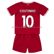 Liverpool Voetbaltenue Kind 2017-18 Philippe Coutinho 10 Thuisshirt..