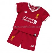 Liverpool Voetbaltenue Kind 2017-18 Thuisshirt..