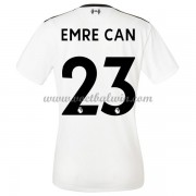 Liverpool Dames Voetbalshirts 2017-18 Emre Can 23 Uitshirt..