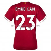 Liverpool Dames Voetbalshirts 2017-18 Emre Can 23 Thuisshirt..
