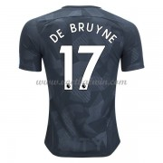 Premier League Voetbalshirts Manchester City 2017-18 De Bruyne 17 Third Shirt..