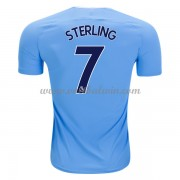 Premier League Voetbalshirts Manchester City 2017-18 Raheem Sterling 7 Thuisshirt..