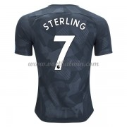 Premier League Voetbalshirts Manchester City 2017-18 Raheem Sterling 7 Third Shirt..