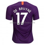 Premier League Voetbalshirts Manchester City 2018-19 De Bruyne 17 Third Shirt..