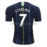 Premier League Voetbalshirts Manchester City 2018-19 Raheem Sterling 7 Uitshirt..