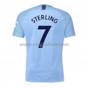 Premier League Voetbalshirts Manchester City 2018-19 Raheem Sterling 7 Thuisshirt..