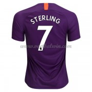 Premier League Voetbalshirts Manchester City 2018-19 Raheem Sterling 7 Third Shirt..