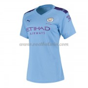 Manchester City Dames Voetbalshirts 2019-20 Thuisshirt..