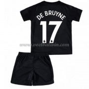 Manchester City Voetbaltenue Kind 2017-18 De Bruyne 17 Third Shirt..