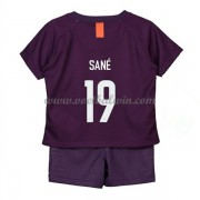 Manchester City Voetbaltenue Kind 2018-19 Leroy Sané 19 Third Shirt..