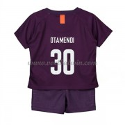 Manchester City Voetbaltenue Kind 2018-19 Nicolas Otamendi 30 Third Shirt..