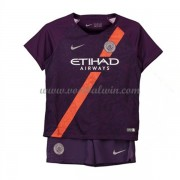 Manchester City Voetbaltenue Kind 2018-19 Third Shirt..