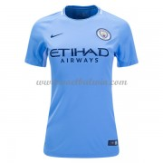 Manchester City Dames Voetbalshirts 2017-18 Thuisshirt..
