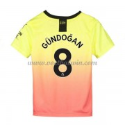 Manchester City Voetbaltenue Kind 2019-20 Ilkay Gundogan 8 Third Shirt..