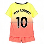 Manchester City Voetbaltenue Kind 2019-20 Kun Aguero 10 Third Shirt..