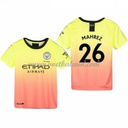 Manchester City Voetbaltenue Kind 2019-20 Mahrez 26 Third Shirt..