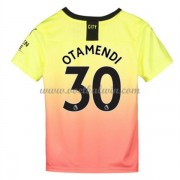 Manchester City Voetbaltenue Kind 2019-20 Nicolas Otamendi 30 Third Shirt..
