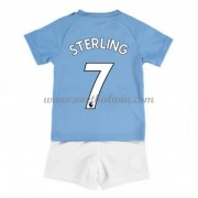 Manchester City Voetbaltenue Kind 2019-20 Raheem Sterling 7 Thuisshirt..