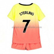 Manchester City Voetbaltenue Kind 2019-20 Raheem Sterling 7 Third Shirt..