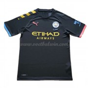 Manchester City Voetbaltenue Kind 2019-20 Uitshirt..