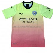Manchester City Voetbaltenue Kind 2019-20 Third Shirt..