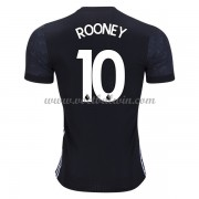Premier League Voetbalshirts Manchester United 2017-18 Wayne Rooney 10 Uitshirt..