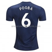 Premier League Voetbalshirts Manchester United 2018-19 Paul Pogba 6 Third Shirt..