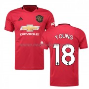 Goedkope Voetbalshirts Manchester United 2019-20 Ashley Young 18 Thuisshirt..