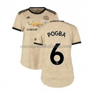 Manchester United Dames Voetbalshirts 2019-20 Paul Pogba 6 Uitshirt..