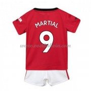 Manchester United Voetbaltenue Kind 2019-20 Anthony Martial 9 Thuisshirt..