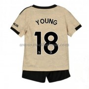 Manchester United Voetbaltenue Kind 2019-20 Ashley Young 18 Uitshirt..