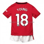 Manchester United Voetbaltenue Kind 2019-20 Ashley Young 18 Thuisshirt..