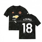 Manchester United Voetbaltenue Kind 2019-20 Ashley Young 18 Third Shirt..