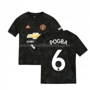 Manchester United Voetbaltenue Kind 2019-20 Paul Pogba 6 Third Shirt..