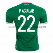 Goedkope Voetbalshirts Mexico Elftal 2016 Paul Aguilar 22 Thuis Tenue..