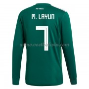 Goedkope Voetbalshirts Mexico Elftal 2018 Miguel Layun 7 Thuis Tenue Lange Mouw..