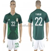 Goedkope Voetbaltenues Mexico Elftal WK 2018 Paul Aguilar 22 Thuisshirt..