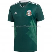 Goedkope Voetbaltenues Mexico Elftal WK 2018 Thuisshirt..