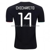 Goedkope Voetbalshirts Mexico Elftal 2020 Chicharito 14 Thuis Tenue..