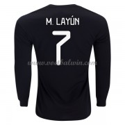 Goedkope Voetbalshirts Mexico Elftal 2020 Miguel Layun 7 Thuis Tenue Lange Mouw..