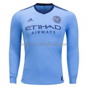 Clubs Voetbalshirts New York City 2017-18 Thuisshirt Lange Mouw..