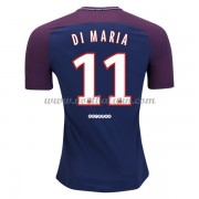 Ligue 1 Paris Saint Germain PSG 2017-18 Di Maria 11 Thuisshirt..
