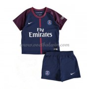 Paris Saint Germain PSG Voetbaltenue Kind 2017-18 Thuisshirt..