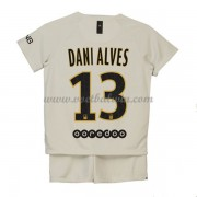 Paris Saint Germain PSG Voetbaltenue Kind 2018-19 Dani Alves 32 Uitshirt..
