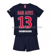 Paris Saint Germain PSG Voetbaltenue Kind 2018-19 Dani Alves 32 Thuisshirt..