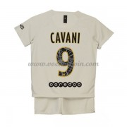 Paris Saint Germain PSG Voetbaltenue Kind 2018-19 Edinson Cavani 9 Uitshirt..