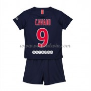 Paris Saint Germain PSG Voetbaltenue Kind 2018-19 Edinson Cavani 9 Thuisshirt..