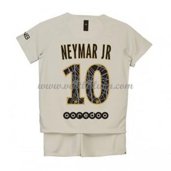 Paris Saint Germain PSG Voetbaltenue Kind 2018-19 Neymar Jr 10 Uitshirt