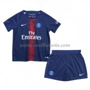 Paris Saint Germain PSG Voetbaltenue Kind 2018-19 Thuisshirt