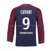Ligue 1 Paris Saint Germain Psg 2017-18 Edinson Cavani 9 Thuisshirt Lange Mouw..